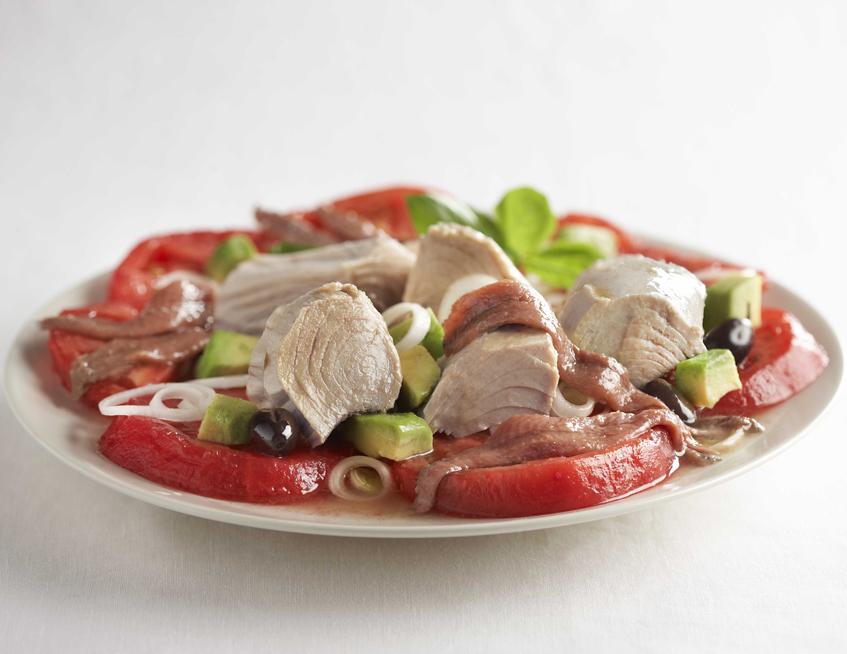 ensalada con anchoas ortiz umami